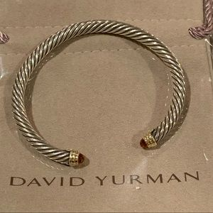 David Yurman 5mm Classic cable bracelet - citrine